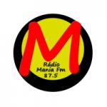 Logo da emissora Rede Mania FM