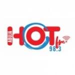 Logo da emissora Radio Hot 98.3 FM