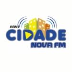 Logo da emissora Rádio Cidade Nova FM