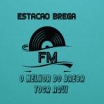 Logo da emissora Rádio Estação Brega Fm