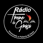 Logo da emissora Rádio Trono Da Graça