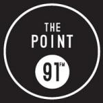Logo da emissora WCYT The Point  91.1 FM