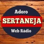 Logo da emissora Adoro Sertaneja Web Rádio