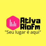 Logo da emissora Ativa Rio FM