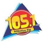 Logo da emissora Rádio Atlântico 105.1 FM