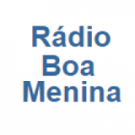Logo da emissora Rádio Boa Menina