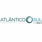 Logo da emissora Rádio Atlântico Sul 105.7 FM