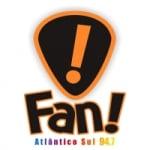 Logo da emissora Rádio Fan Atlântico Sul 94.7 FM
