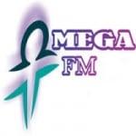 Logo da emissora Rádio Omega FM