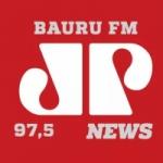 Logo da emissora Rádio Jovem Pan News 97.5 FM