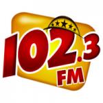 Logo da emissora Rádio Aurora do Povo 102.3 FM