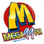 Logo da emissora Rádio Mega 99.7 FM
