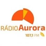 Logo da emissora Rádio Aurora 107.1 FM