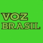 Logo da emissora Voz brasil