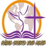 Logo da emissora Rádio Cristo Vive Hoje