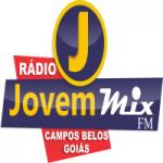 Logo da emissora Rádio Jovem Mix FM
