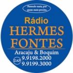 Logo da emissora Rádio Hermes Fontes