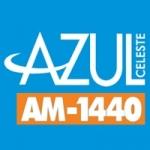 Logo da emissora Rádio Azul Celeste 1440 AM