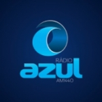 Logo da emissora Rádio Azul 1440 AM