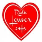 Logo da emissora Rádio 24h Louvor