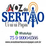 Logo da emissora Rádio A Voz do Sertão Uiuiui Papai