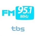 Logo da emissora Radio TBS 95.1 FM