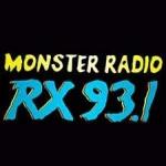 Logo da emissora Radio DWRX Monster Radio RX 93.1 FM