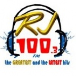 Logo da emissora Radio DZRJ FM 100.3