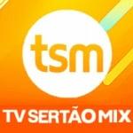 Logo da emissora Rádio Sertão Mix