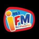 Logo da emissora Radio iFM 93.9 FM