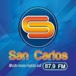 Logo da emissora San Carlos 87.9 FM