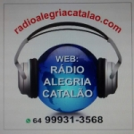 Logo da emissora Rádio Alegria Catalão
