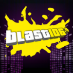 Logo da emissora Radio Blast 106.4 FM