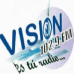 Logo da emissora Radio Vision 102.9 FM