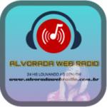 Logo da emissora Alvorada Web Rádio Gospel