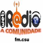 Logo da emissora Rádio Comunidade FM CSU