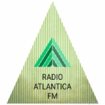 Logo da emissora Rádio Atlantica FM
