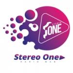Logo da emissora Rádio Stereo One