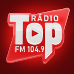 Logo da emissora Rádio Top 104.9 FM Jaguarari