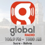 Logo da emissora Radio Global 106.9 FM 1380 AM