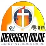 Logo da emissora Rádio Mensagem Online