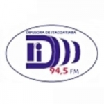 Logo da emissora Rádio Difusora 94.5 FM