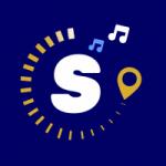 Logo da emissora Rádio Som da Serra .Com
