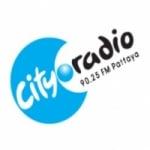Logo da emissora City Radio 90.25 FM