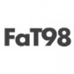 Logo da emissora Fat Radio 104.5 FM