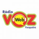Logo da emissora Rádio Voz Paraguatins