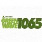 Logo da emissora Radio Green Wave 106.5 FM