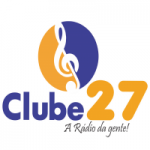 Logo da emissora Rádio Clube 27 FM