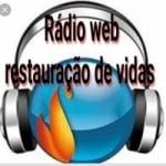 Logo da emissora Rádio Web Restauração De Vidas