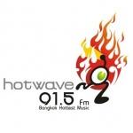 Logo da emissora Radio Hotwave 91.5 FM
